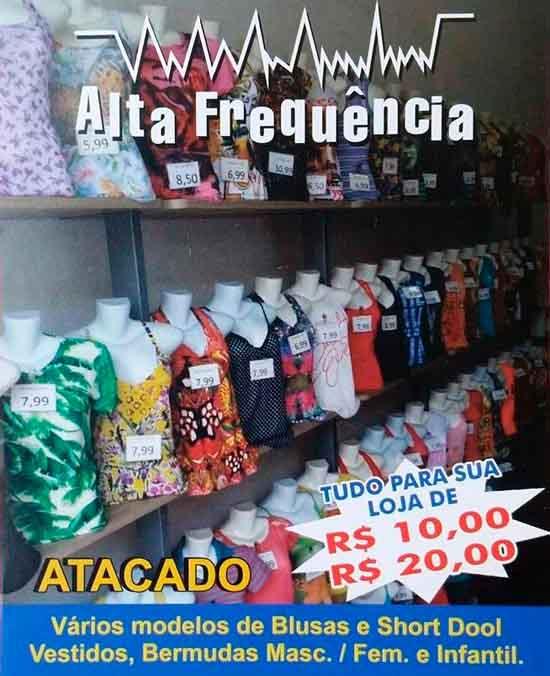 4693605c3 ALTA FREQUÊNCIA na Rua João Boemer