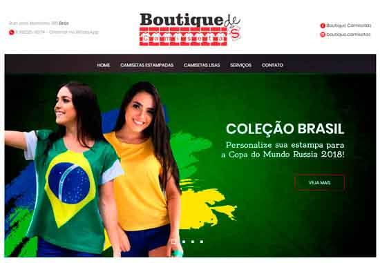 Boutique de Camisetas