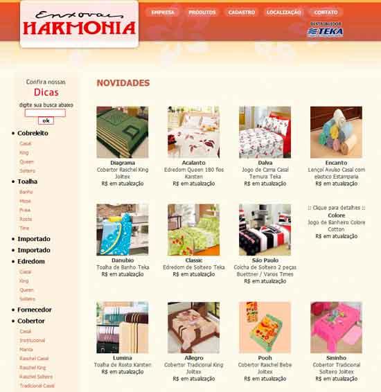 ENXOVAIS HARMONIA