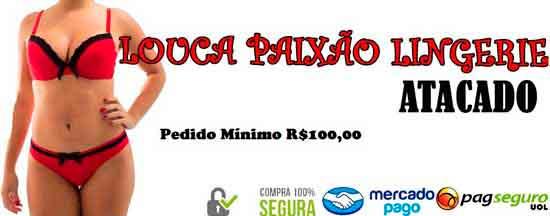 fb9d3383c LINGERIE LOUCA PAIXÃO na Rua Júlio Ribeiro