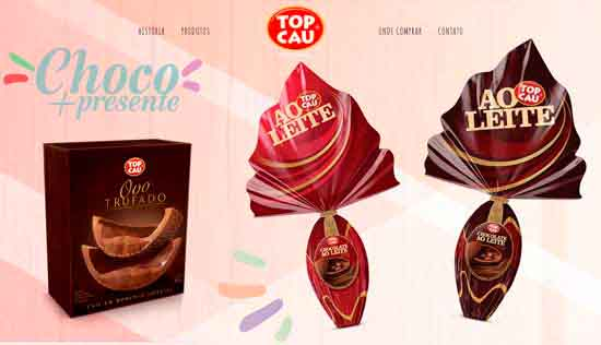 TOP CAU CHOCOLATES