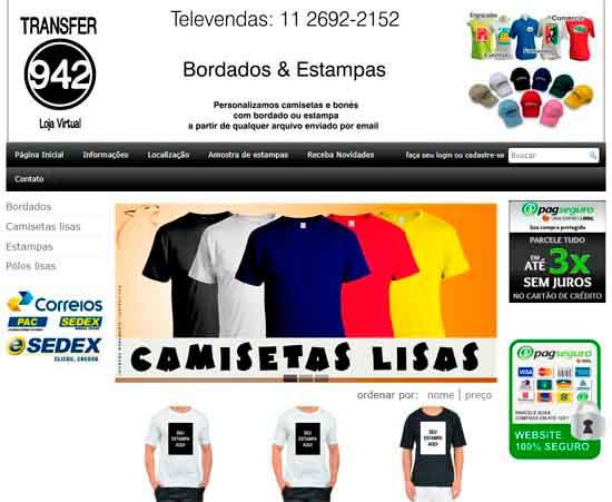 Camisetas Promocionais - O Melhor do Bras a368954352197